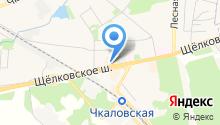 Connect на карте