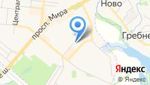 Фрязинская теплосеть, ЗАО на карте