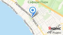 Туя на карте