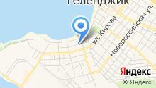 Бюро медико-социальной экспертизы №24 по Краснодарскому краю в г. Геленджике на карте