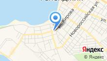 Управление социальной защиты населения Министерства социального развития и семейной политики Краснодарского края в городе-курорте Геленджике на карте