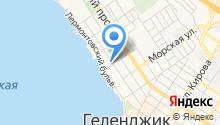 Продуктовый магазин на ул. Ангулем на карте