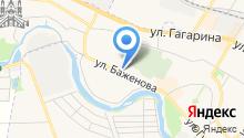 Торглайн на карте