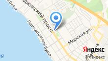 Геленджикский дельфинарий, ЗАО на карте