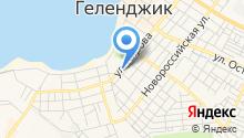 На Кирова на карте