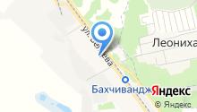Почтовое отделение №141104 на карте
