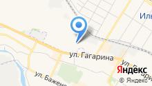 Магазин инструмента и хозяйственных товаров на карте