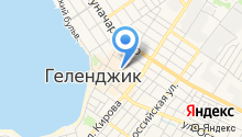 Центральное на карте