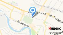 Магазин ритуальных принадлежностей на ул. Молодежная на карте