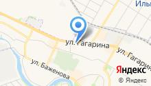 Ниишп+ на карте