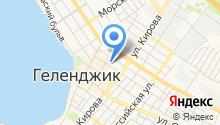 афиныюг на карте