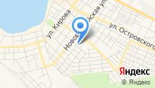 На Севостопольской на карте