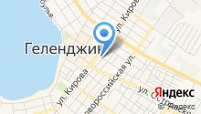Продовольственный магазин на Кирова на карте