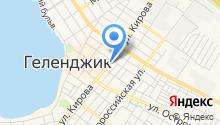 Центр зарубежных связей на карте