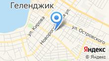 Управление Пенсионного фонда РФ в г. Геленджике на карте