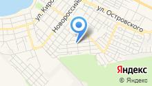Продуктовый магазин на Вишневой на карте