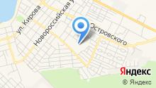 На Нахимова на карте