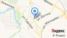 Почтовое отделение №140186 на карте