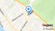 Энсино на карте