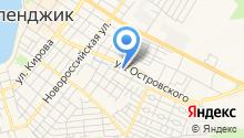 Геленджикское дорожное ремонтно-строительное управление на карте