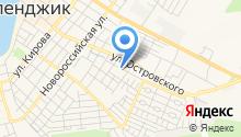 Мак на карте