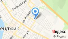 Магазин сувениров и бижутерии на Киевской на карте