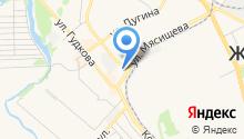 Магазин бытовой химии на Набережной Циолковского на карте
