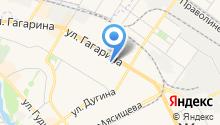 Секонд-хенд на ул. Гагарина на карте