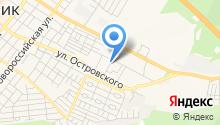 Автомагазин на Жуковского на карте