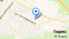 Автомойка на ул. Маяковского на карте