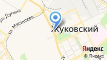 Московская фабрика мебели на карте