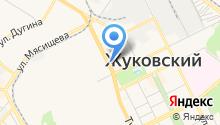 Министерство транспорта Московской области на карте