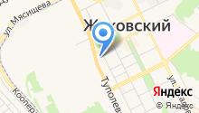 Администрация городского округа Жуковский на карте