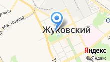 Егорьевская фабрика на карте