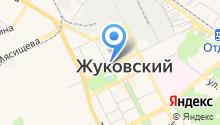 Центральный аэрогидродинамический институт им. профессора Н.Е. Жуковского на карте
