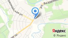 Ивановское белье на карте