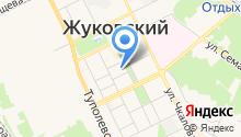 Муниципальный институт г. Жуковского на карте