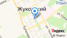 На Маяковского на карте