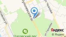 Межтопэнергобанк, ПАО на карте