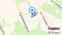 Жуковская централизованная библиотечная система на карте
