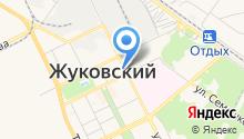 Магазин головных уборов на ул. Чкалова на карте