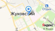 Жуковский музей истории покорения неба на карте