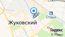 Жуковский центр социального обслуживания граждан пожилого возраста и инвалидов на карте