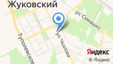 Жуковский Страховой Супермаркет на карте