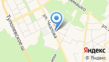 Мастерская по изготовлению ключей на ул. Чкалова на карте