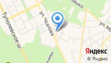 Жуковский городской оптово-розничный рынок на карте
