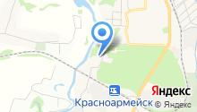 Александро-Невский храм города Красноармейска на карте