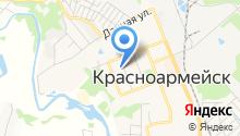 Центр лечебного и профилактического питания городского округа Красноармейск на карте
