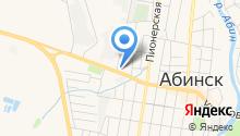 Хутор Диканька на карте