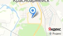 Куафер на карте